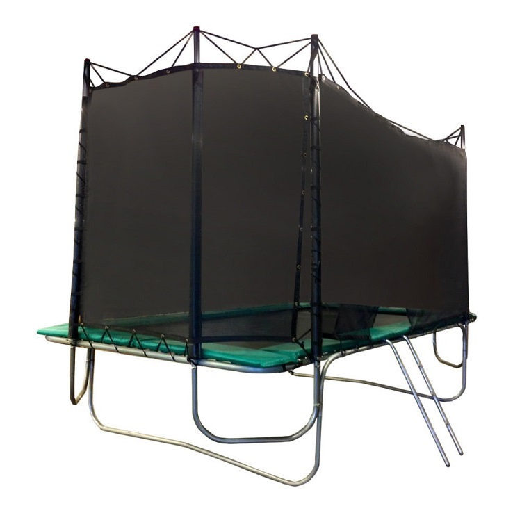 9X17 Competitor Trampoline W/Texas Cage Safe Encl.